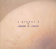 [prunus] zabadak in concert